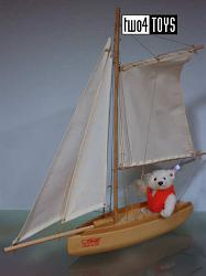 Steiff 657634 REGATTA YACHTSMAN TEDDY BEAR HOLLAND 2006
