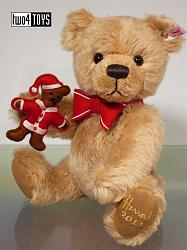 Steiff 663727 SEBASTIAN TEDDY BEAR, HARRODS UK 2013