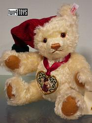 Steiff 666193 CHRISTKINDLMARKT TEDDY BEAR L.E. USA 2000
