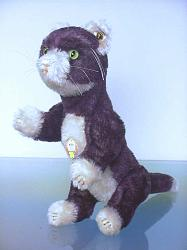 Steiff 668531 KITTY THE PURPLE CAT REPLICA USA 2006