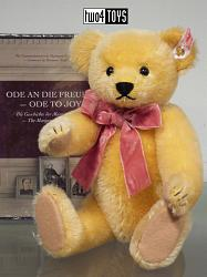 Steiff 673856 ODE TO JOY TEDDY WITH DVD / EUROPE ONLY