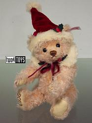 Steiff 677670 LITTLE SANTA ROSE TEDDY BEAR JAPAN 2013