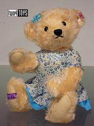 Steiff 677717 ISABEL LIBERTY FABRIC TEDDY BEAR UK / ASIA 2014