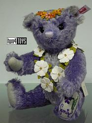 Steiff 677885 SUMIRE TEDDY BEAR LAVENDER JAPAN 2015
