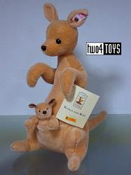 Steiff 680014 KANGA AND ROO CLASSIC POOH SERIES 2002