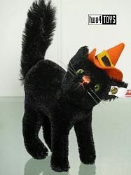 2019 Steiff 683602 SCARY CAT BLACK MOHAIR USA EDITION