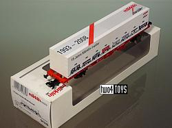 Marklin 94339 INSIDER CLUB SPECIAL CONTAINER CAR 15 YEARS