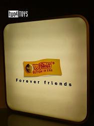 Steiff 000 PROMOTIONAL LIGHT BOX DISPLAY FOREVER FRIENDS LOGO