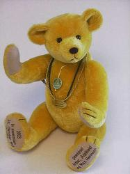 Hermann 10241-8 Yellow 90 Years Commemoration Bear 1913-2003
