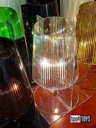 Kartell TAKE TRANSPARENT TABLE LAMP DESIGN FERRUCCIO LAVIANI